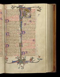 Feast of St Nicholas, in the Stowe Breviary